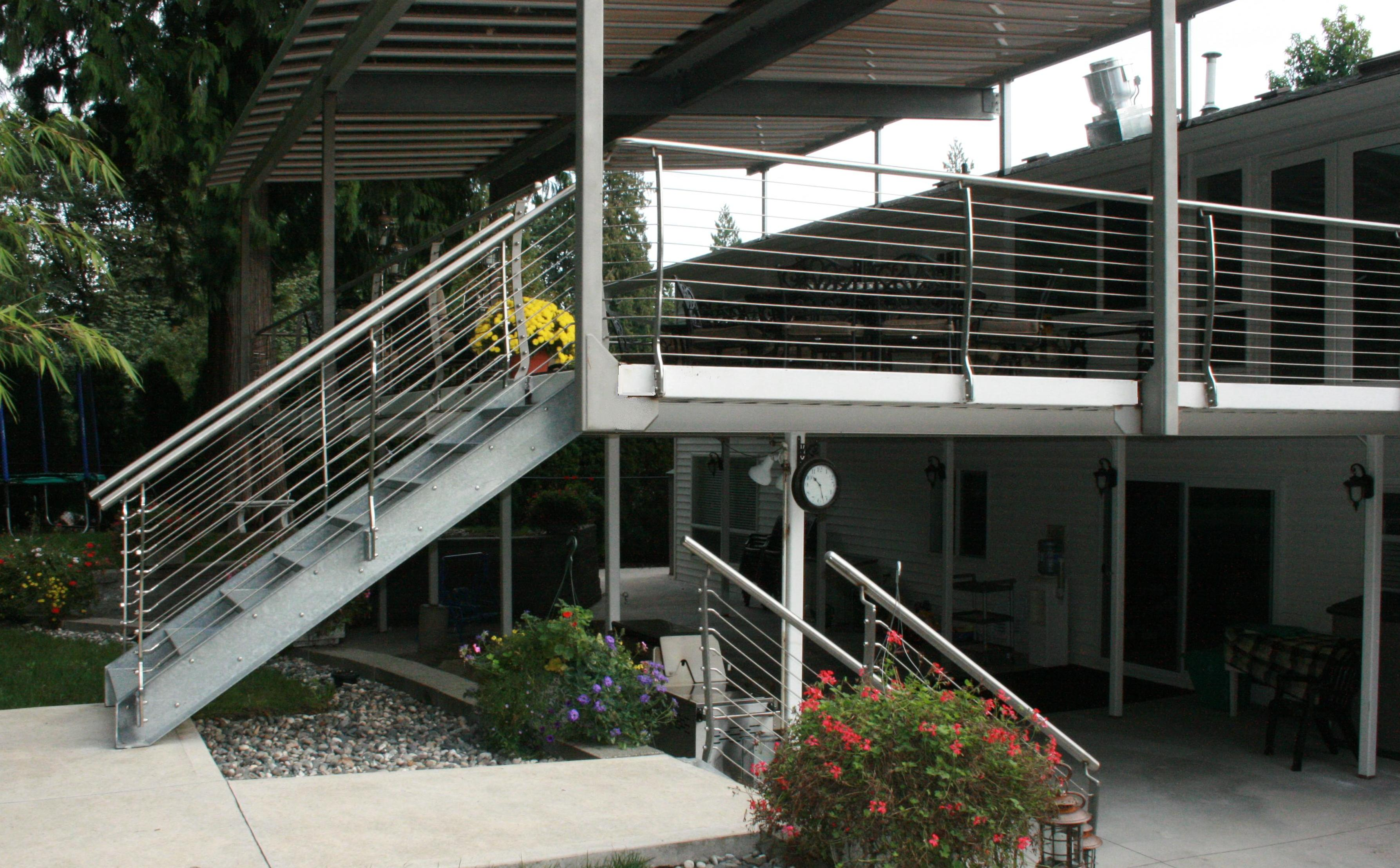 S T I Steeltec Industries Ltd – Stainless Steel Patio Railing with