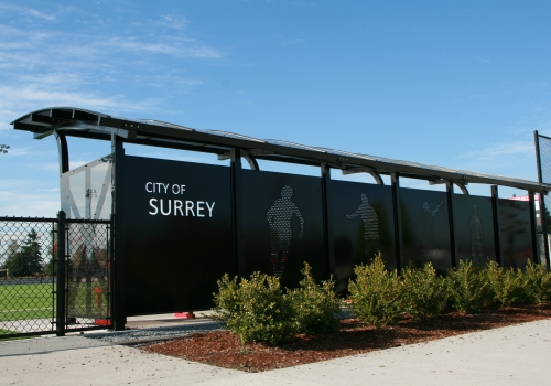 City of Surrey Backstop