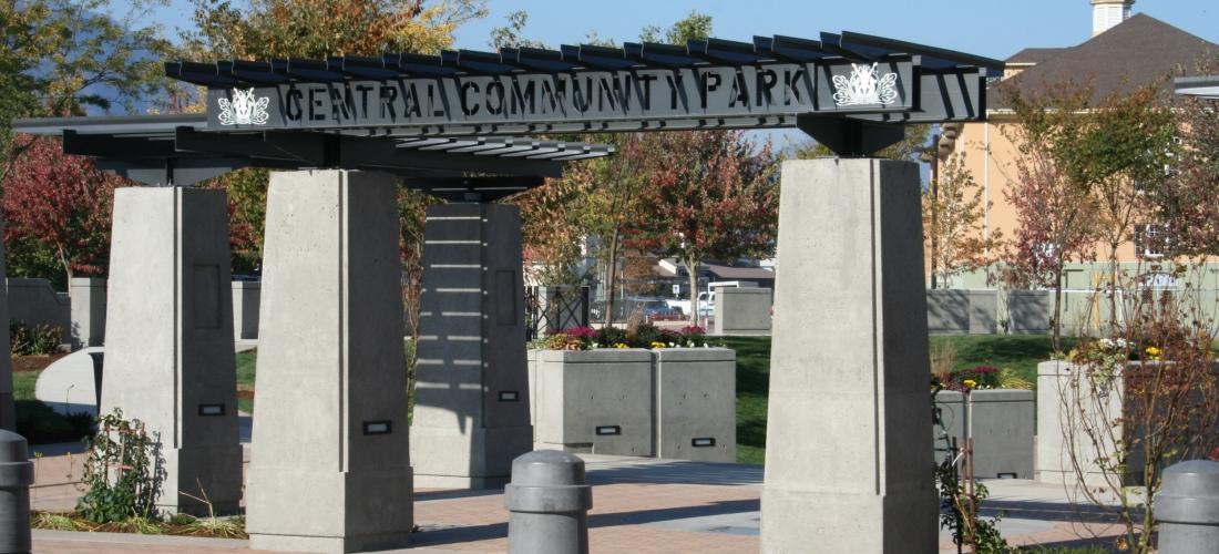 Central Community Park Trellises