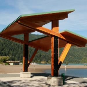 Harrison Hot Springs Trellis Metalwork