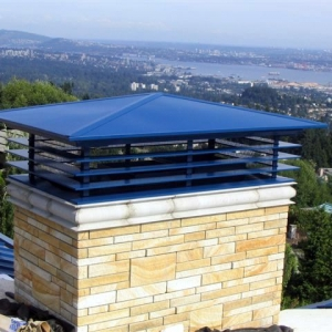 Hinged Power Vent Cover West Vancouver