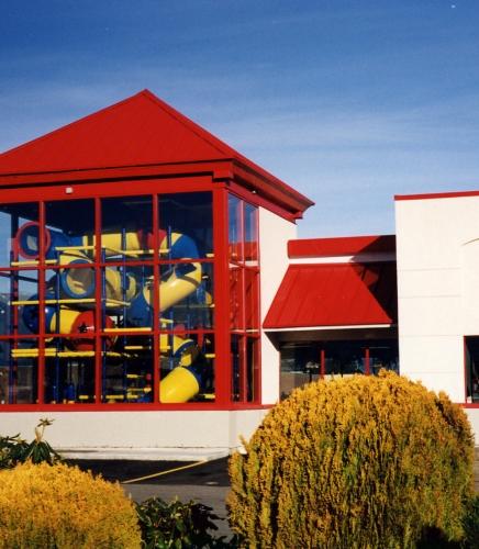 Structural Playground Enclosure