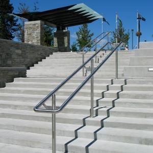 Simon Fraser University Stainless Steel Handrails