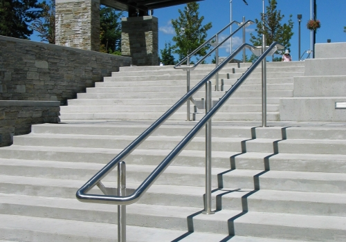 Simon Fraser University Stainless Steel Handrails
