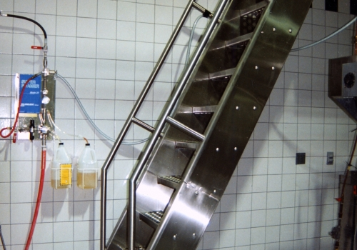 Stainless Steel Ship Ladder