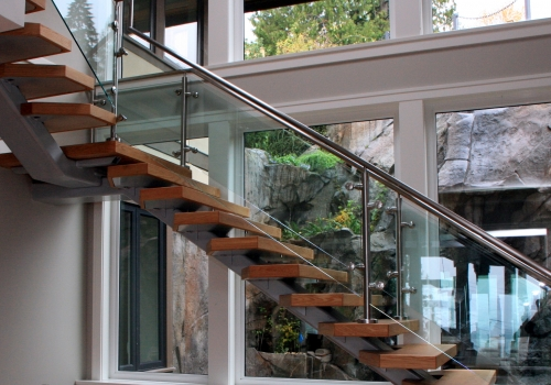 Floating Staircase West Vancouver